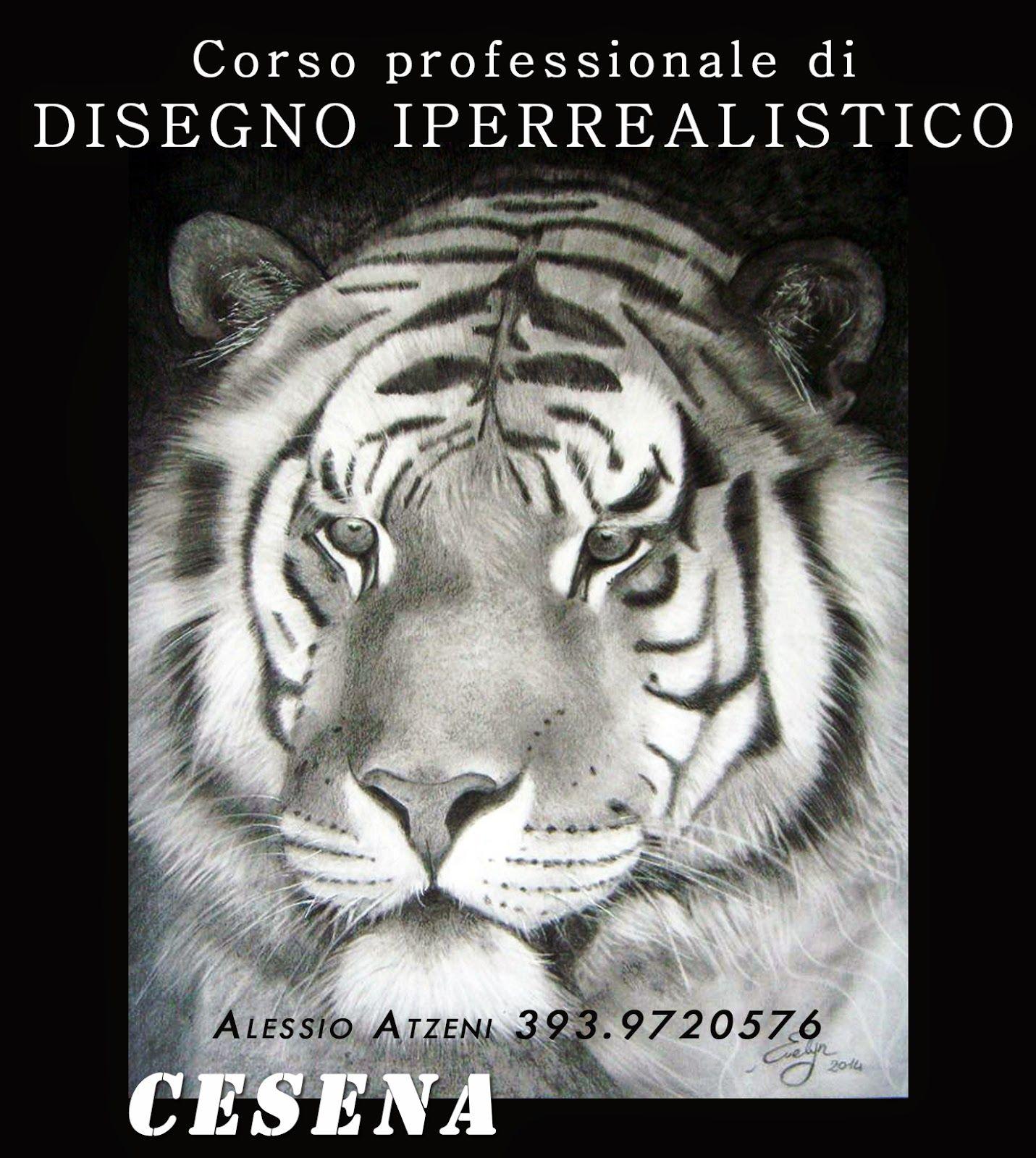 Alessio Atzeni Artista: Corso professionale di disegno iperrealistico OTTOBRE