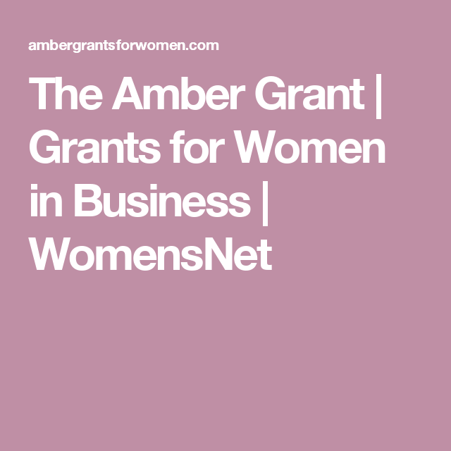 Grants For Women In Business