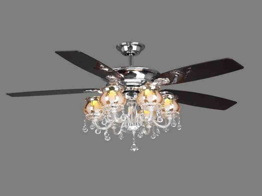 Ceiling Fans With Chandelier Crystals Ceiling Fan Chandelier
