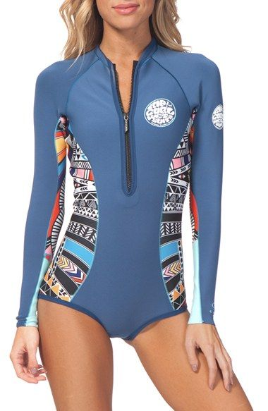 Rip Curl  GBomb  Long Sleeve Bikini Wetsuit available at  Nordstrom ... 9f64e44ad