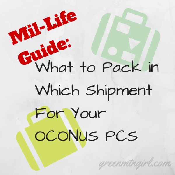 #MilLifeGuide: What To Pack In Which Shipment For Your