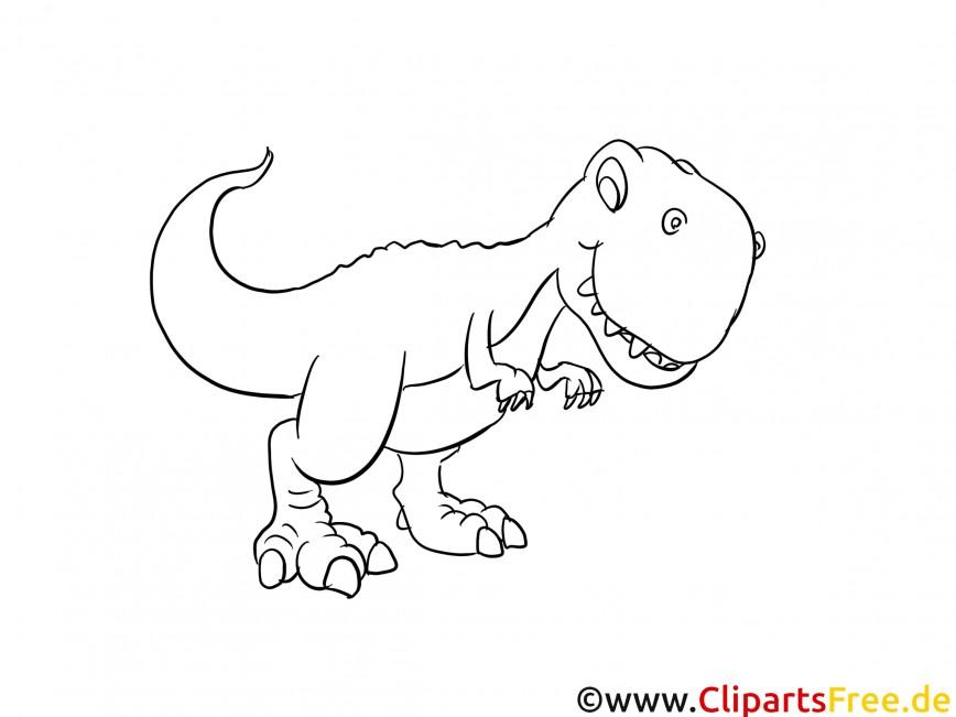 Dinosaurierfarbseiten 021 T Rex Malvorlagen Kostenlos Beispielbilder Farben Lernen Mit