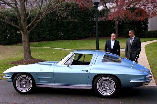 1963 Corvette Split Window The President S Childhood Dream Car