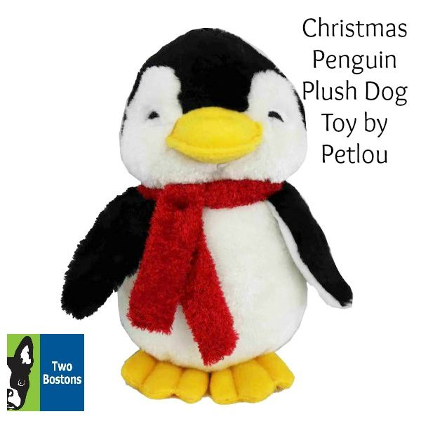 Christmas Penguin Plush Toy By Petlou Of Course Your Dog Wants A