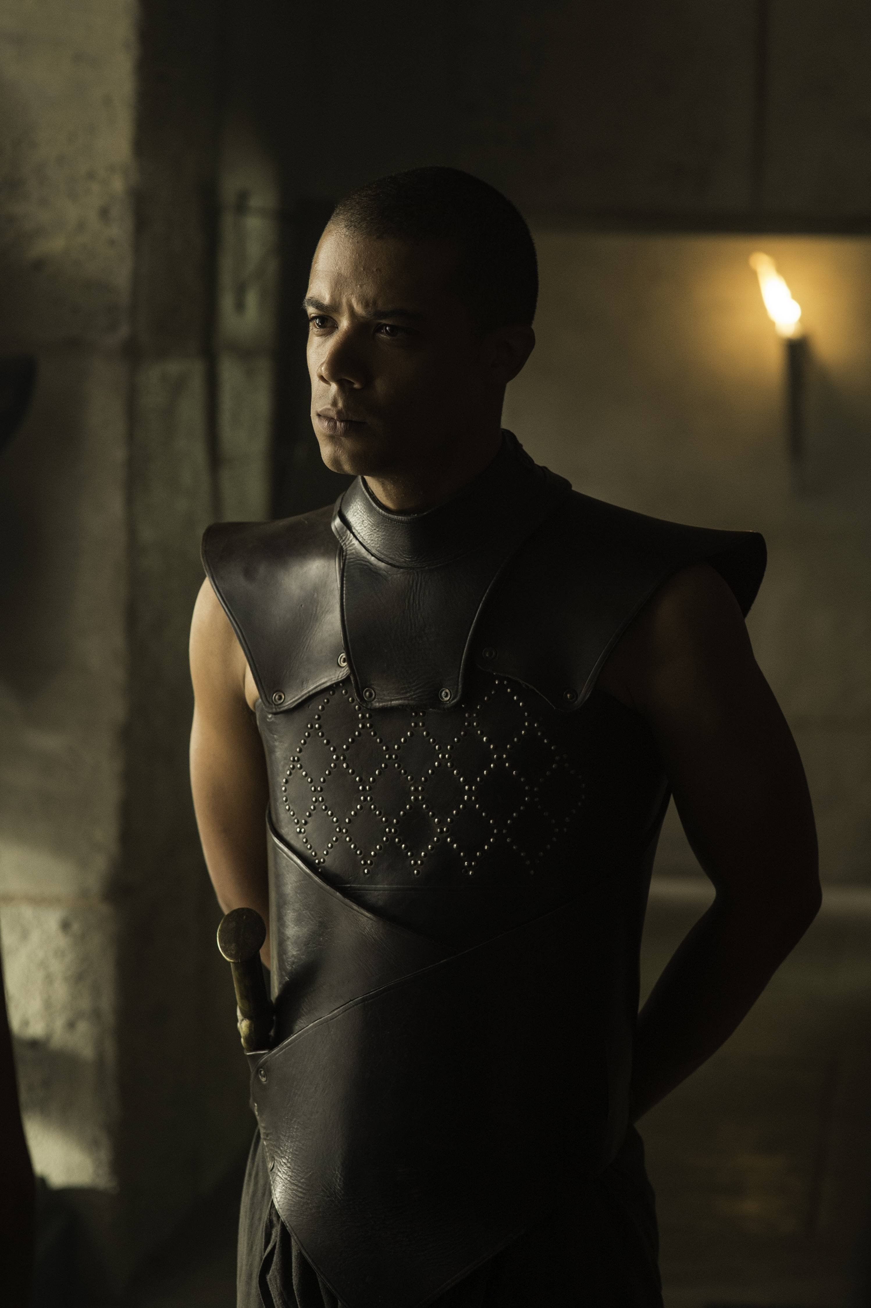 Game of Thrones Grey Worm Game of thrones costumes