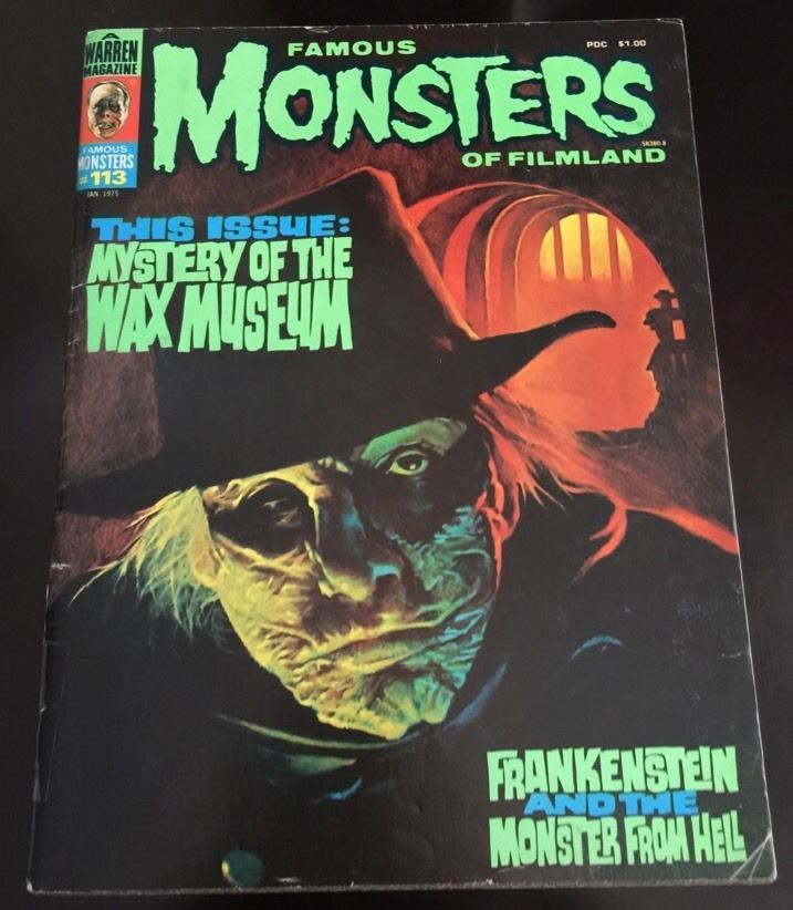 Image result for famous monsters of filmland 113 cover images