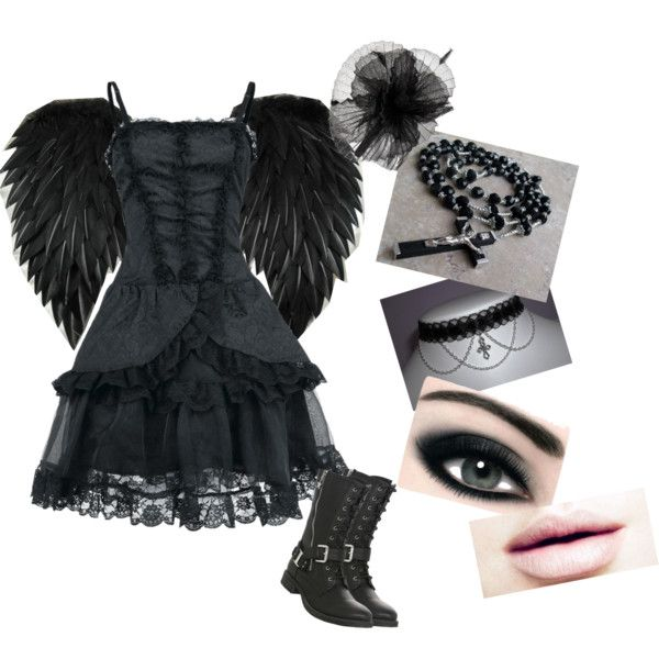 DIY Fallen Angel..Angel of death..Gothic Angel by ...