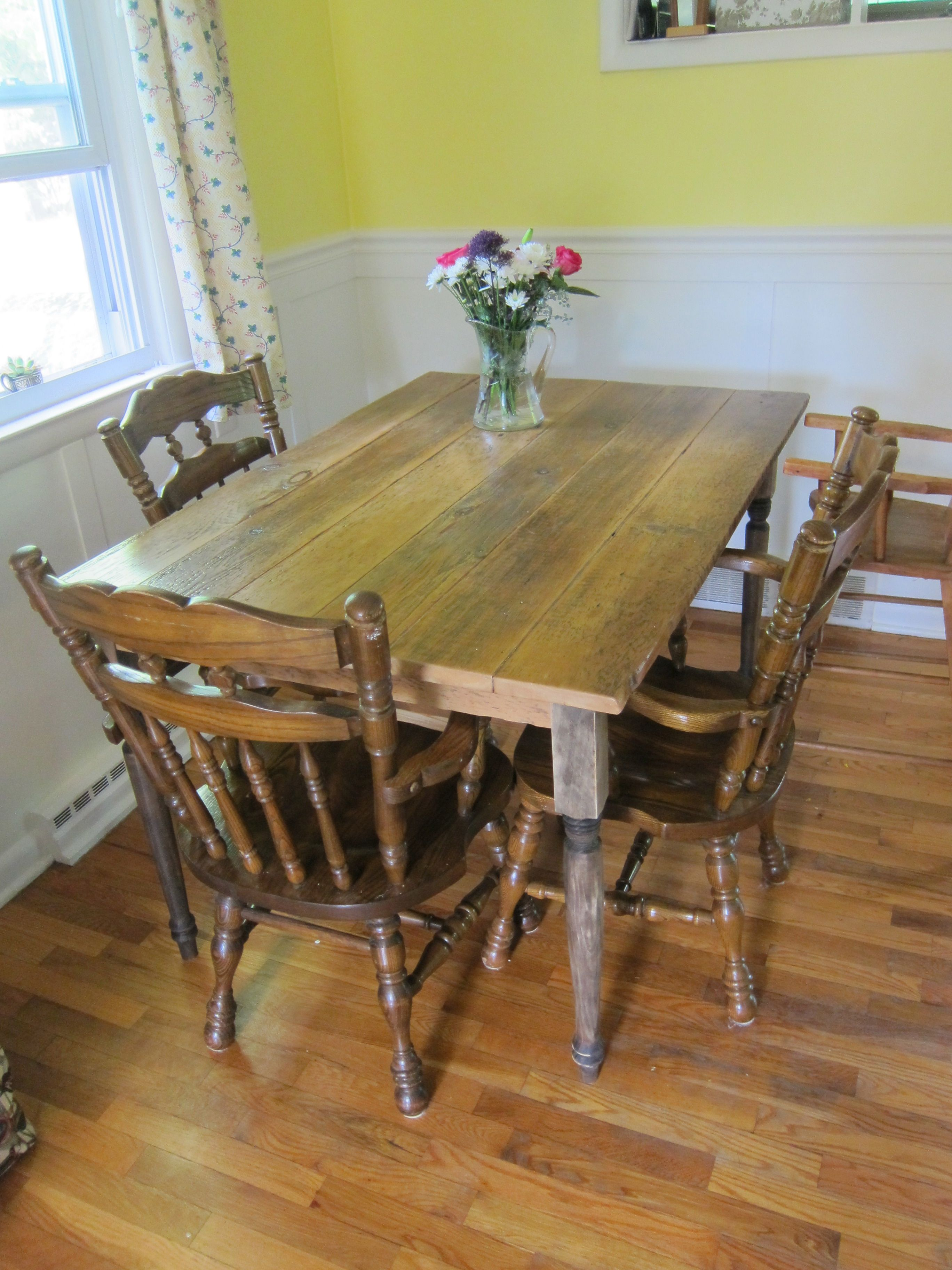 Husky Farmhouse Table Do It Yourself Home Projects from