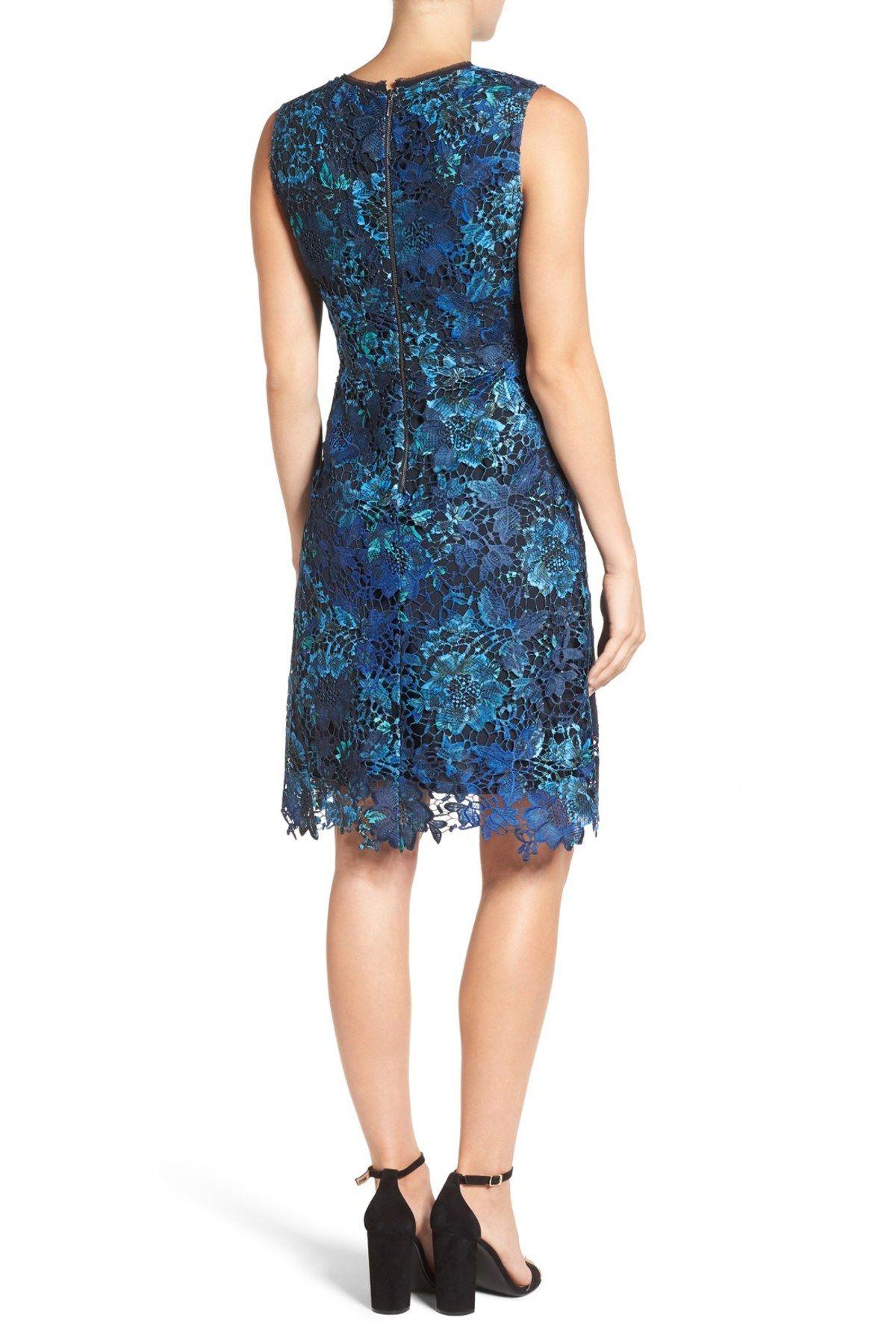 Elora A Line Lace Dress By T Tahari On Nordstrom Rack Lace Dress Dresses Nordstrom Dresses [ 1800 x 1200 Pixel ]