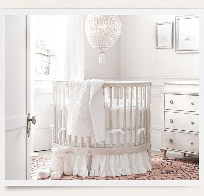 Oval Baby Crib From Baby Child Restoration Hardware Http Www