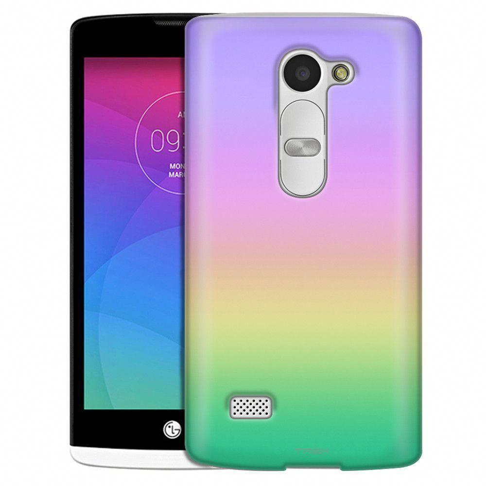 Lg leon rainbow pastel colors slim case lgphones lg
