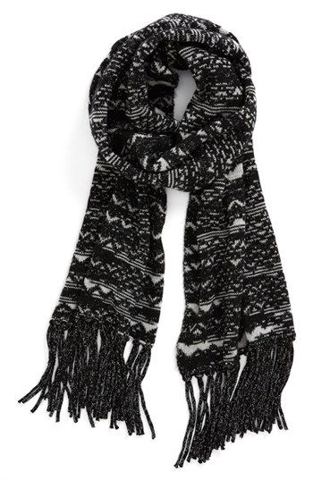 0884dfb640a8 Missoni  Sparkle  Zigzag Scarf available at  Nordstrom
