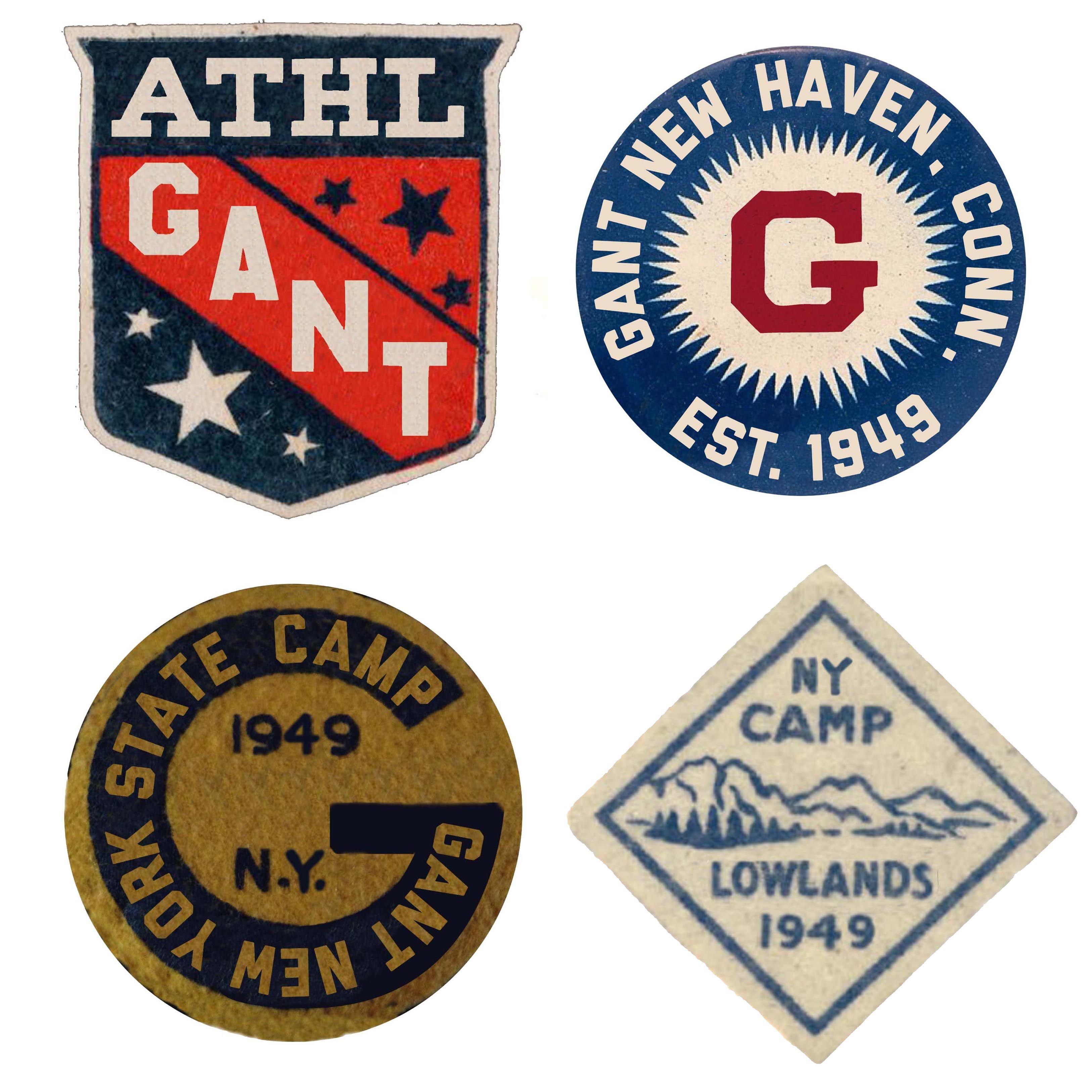erilaisia tyylejä uusin julkaisutiedot Childrens patches for Gant. Glenn Wolk. | Vintage ski ...