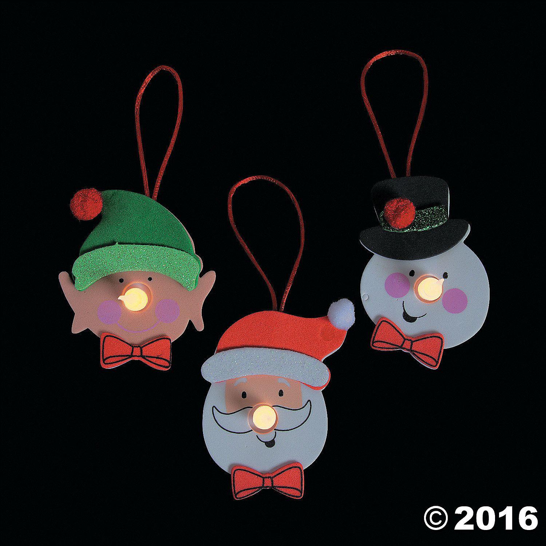 Christmas Character Tea Light Ornament Craft Kit Discontinued Tea Light Crafts Tea Lights Christmas Ornament Crafts