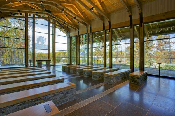 Modern Memorial Chapel In Virginia Chapels And Wedding
