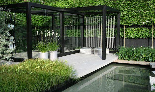Contemporary garden 11 Landscape architecture Pinterest - jardines en terrazas