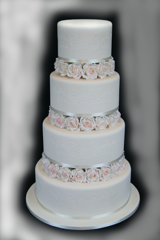 Custom Made For A Princess Wedding Cake By Edible Elegance