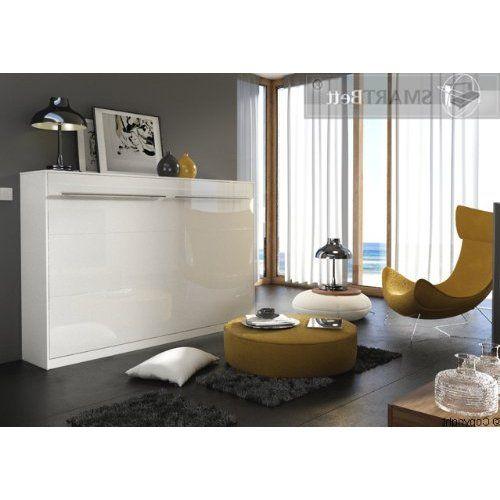 Schrankbett 140 x200cm Vertikal Weiß, ideal als Gästebett - Wandbett ...