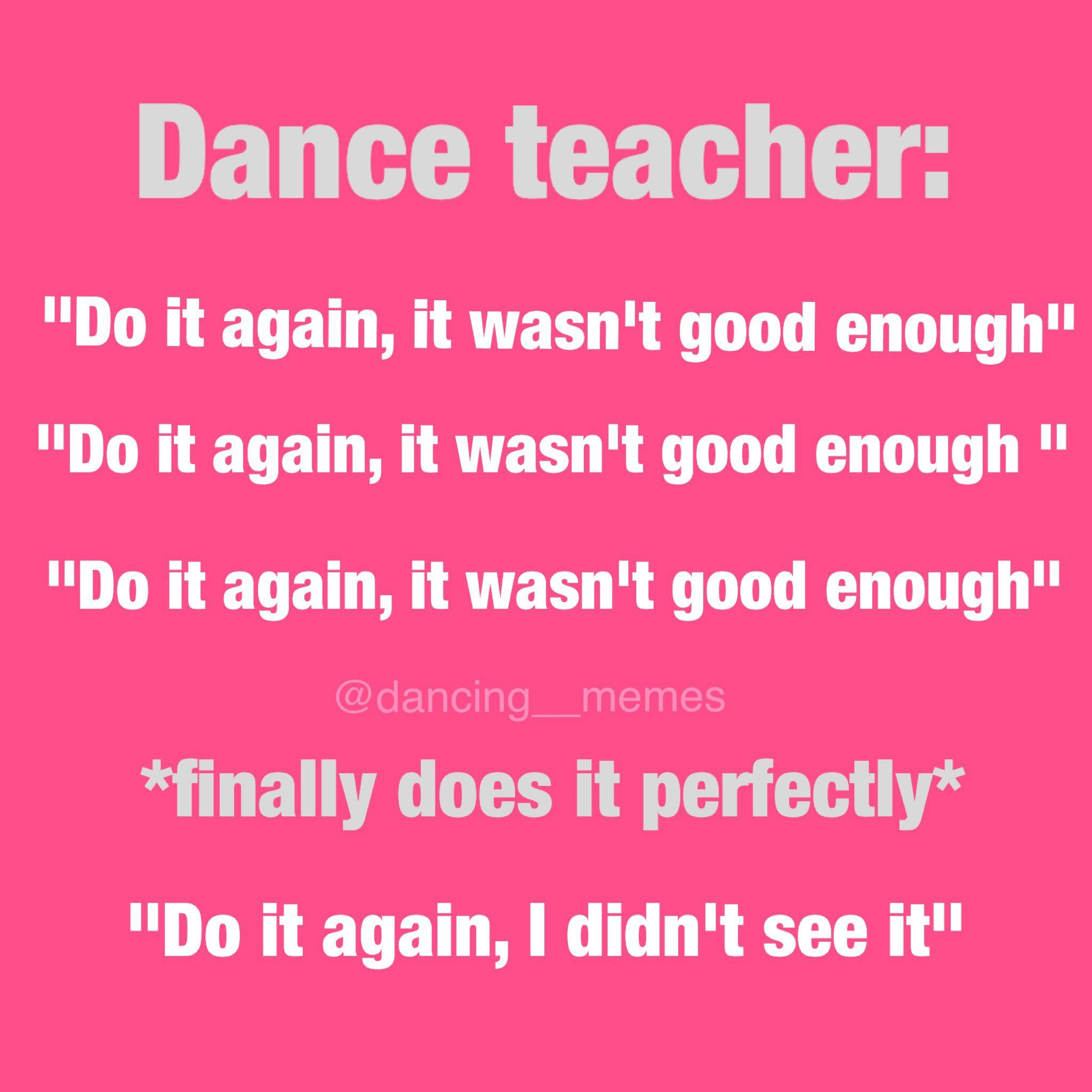 @dancing__memes Funny Dance Ballet Instagram Account