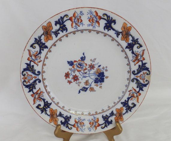 Antique Minton China Merrion An