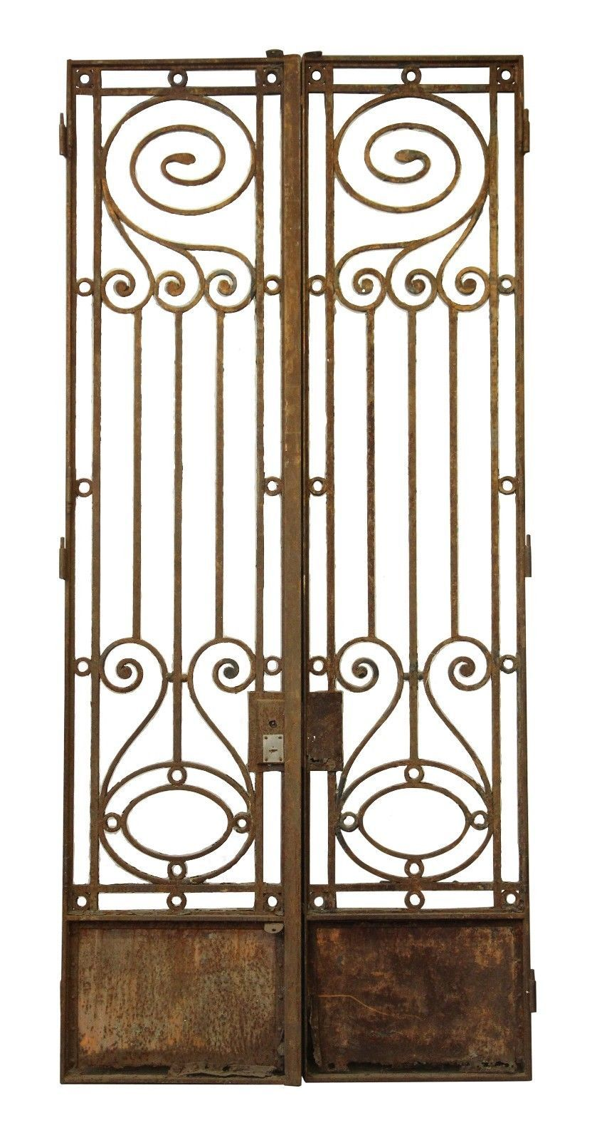 grand entrance decoration.htm 19th century wrought iron town house gates or doors ebay  wrought iron town house gates or doors