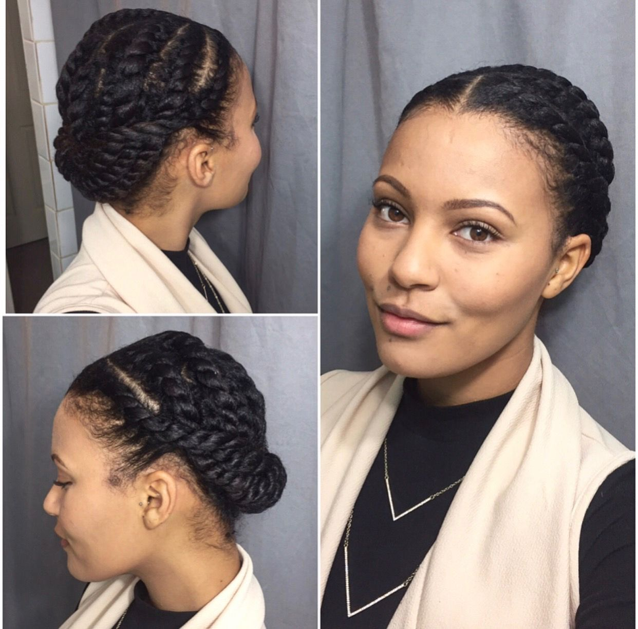 Pin On Natural Hair Ideas For Clients