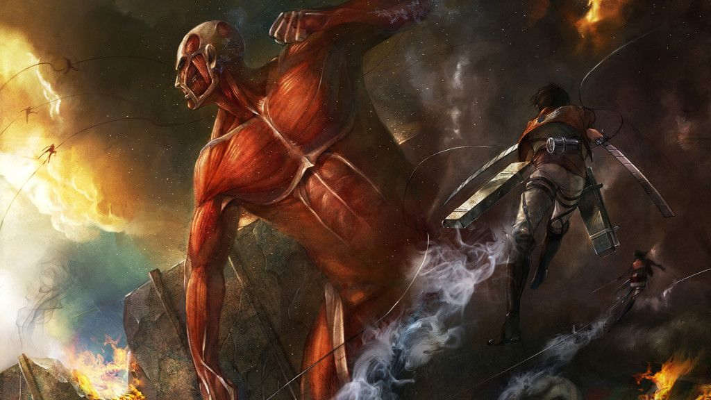 The tv adaptation of hajime isayama's critically acclaimed manga series attack on titan is one of the most popular shows among anime fans. Pin on ogólne