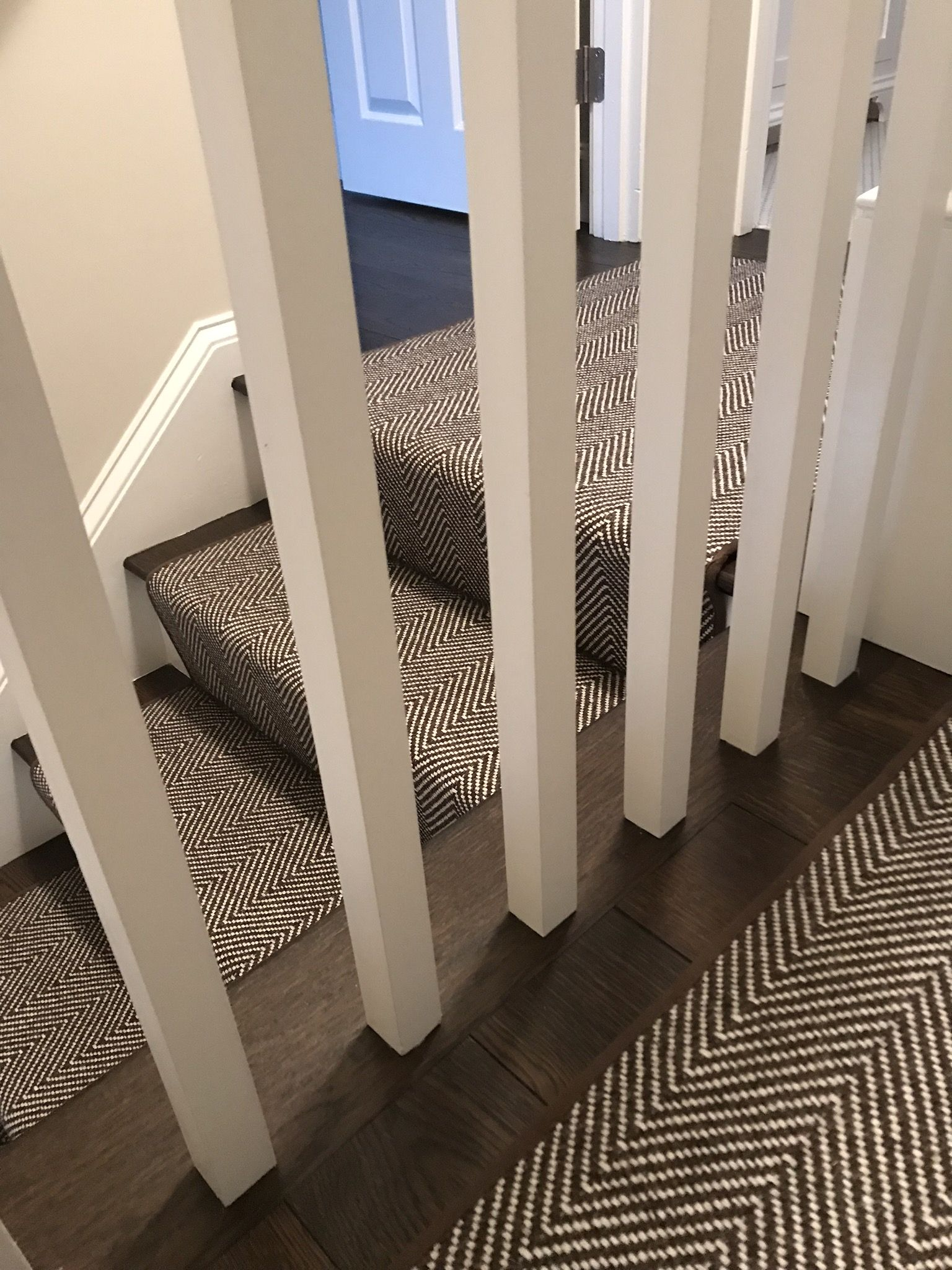 One Of The Best Herringbone Carpets On The Market Peter Island By Kaleen Features A 100 Wool With An Stair Runner Carpet Hallway Carpet Runners Carpet Stairs