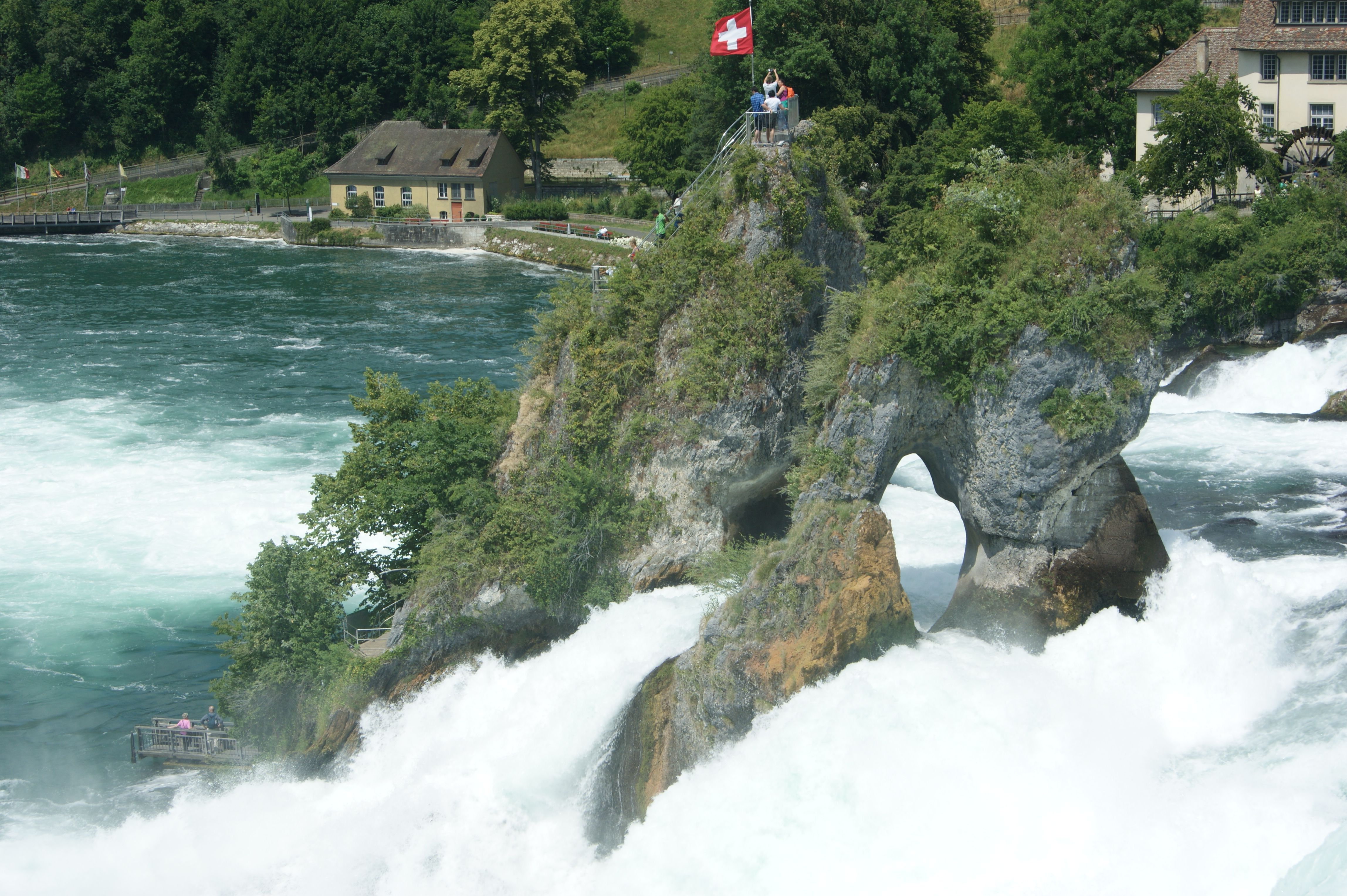 waterval in Schafhausen