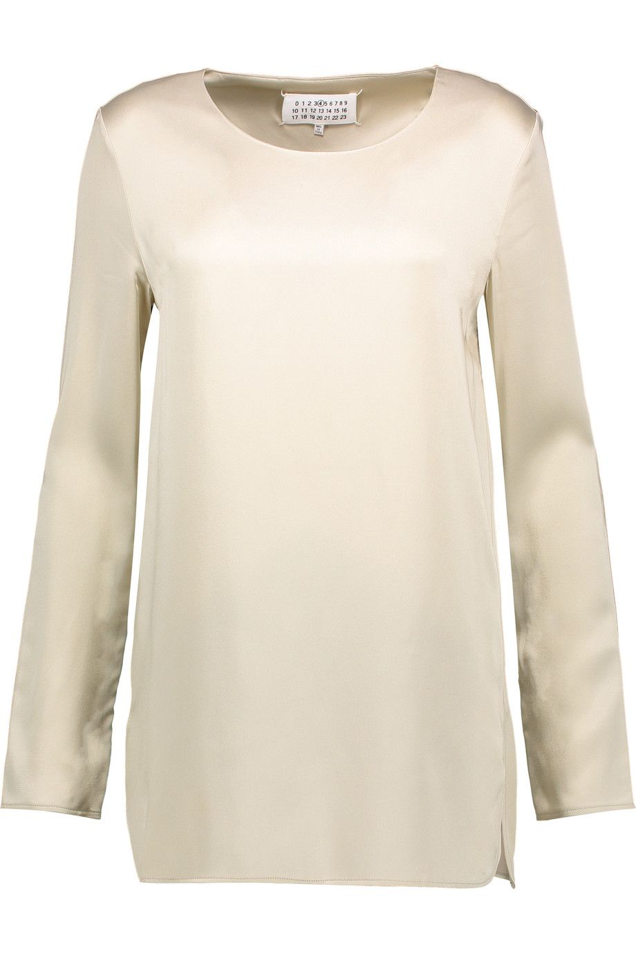 Outlet Amazon Mm6 By Maison Margiela Woman Wrap-effect Twill Top White Size S Maison Martin Margiela Free Shipping Reliable Outlet Footlocker Finishline Popular Online fioUNYVV