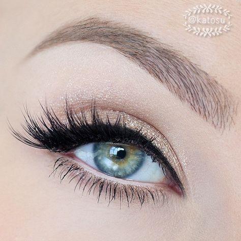 22 magnifique maquillage pour les yeux verts #softmakeup