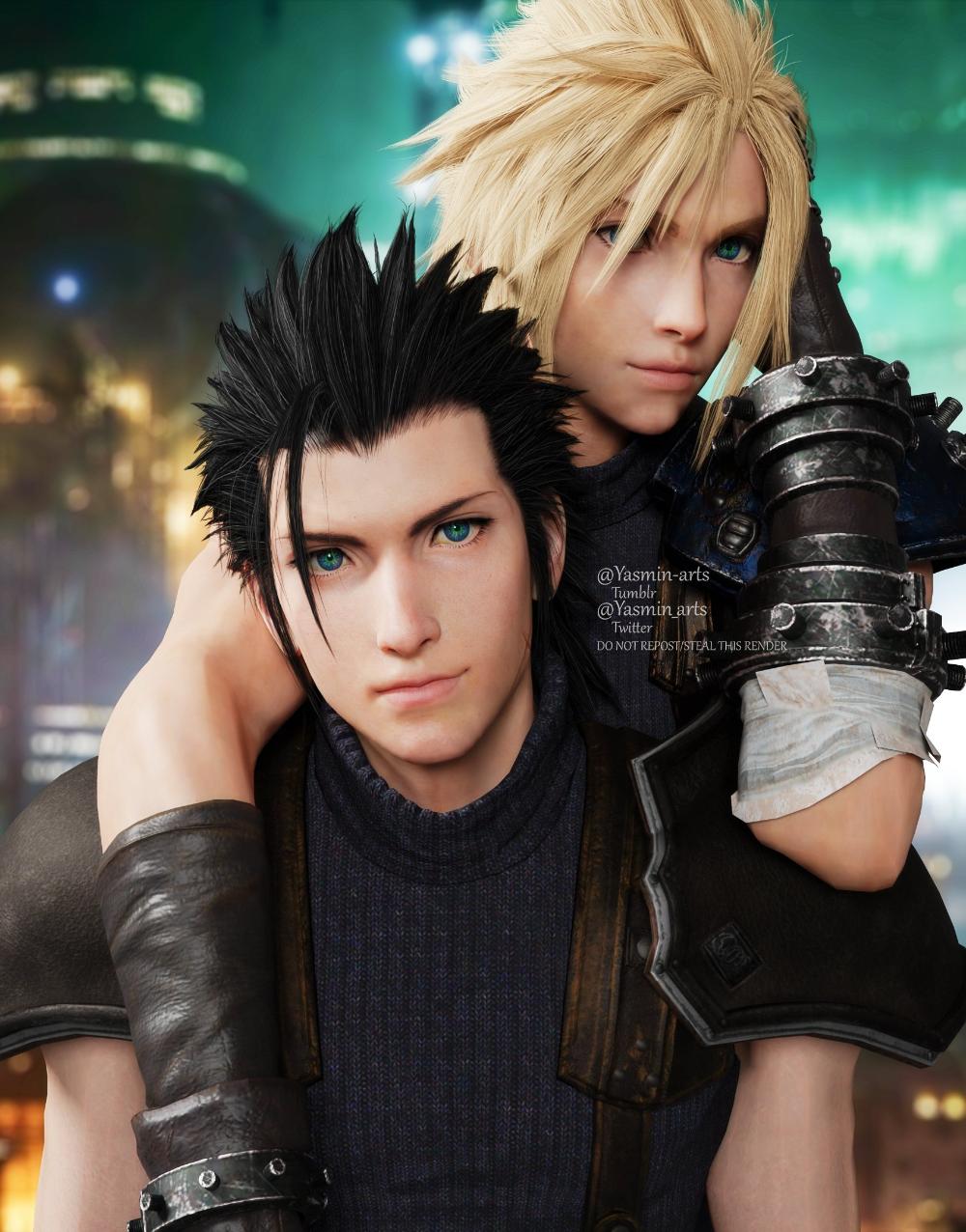 Yasmin On Twitter Zack Fair Final Fantasy Vii Remake Yasmin