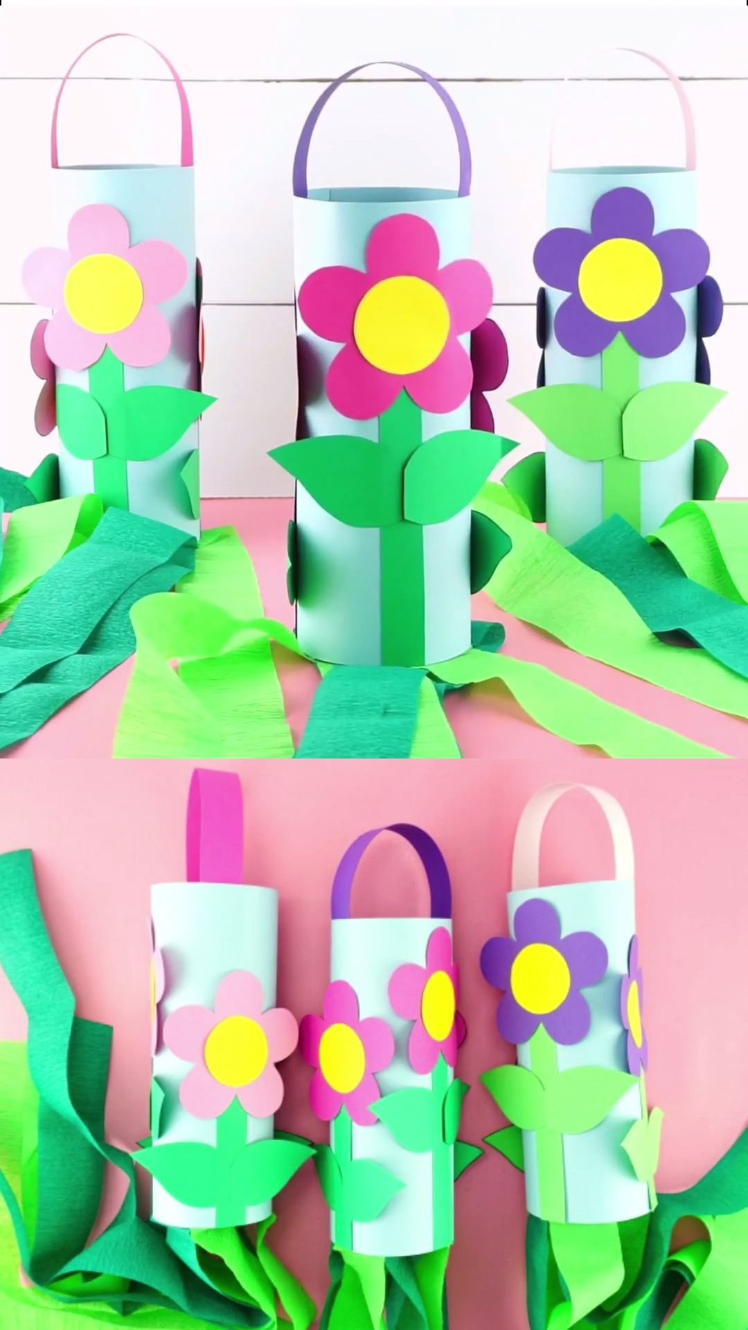 Easy Flower Windsocks Craft for Kids