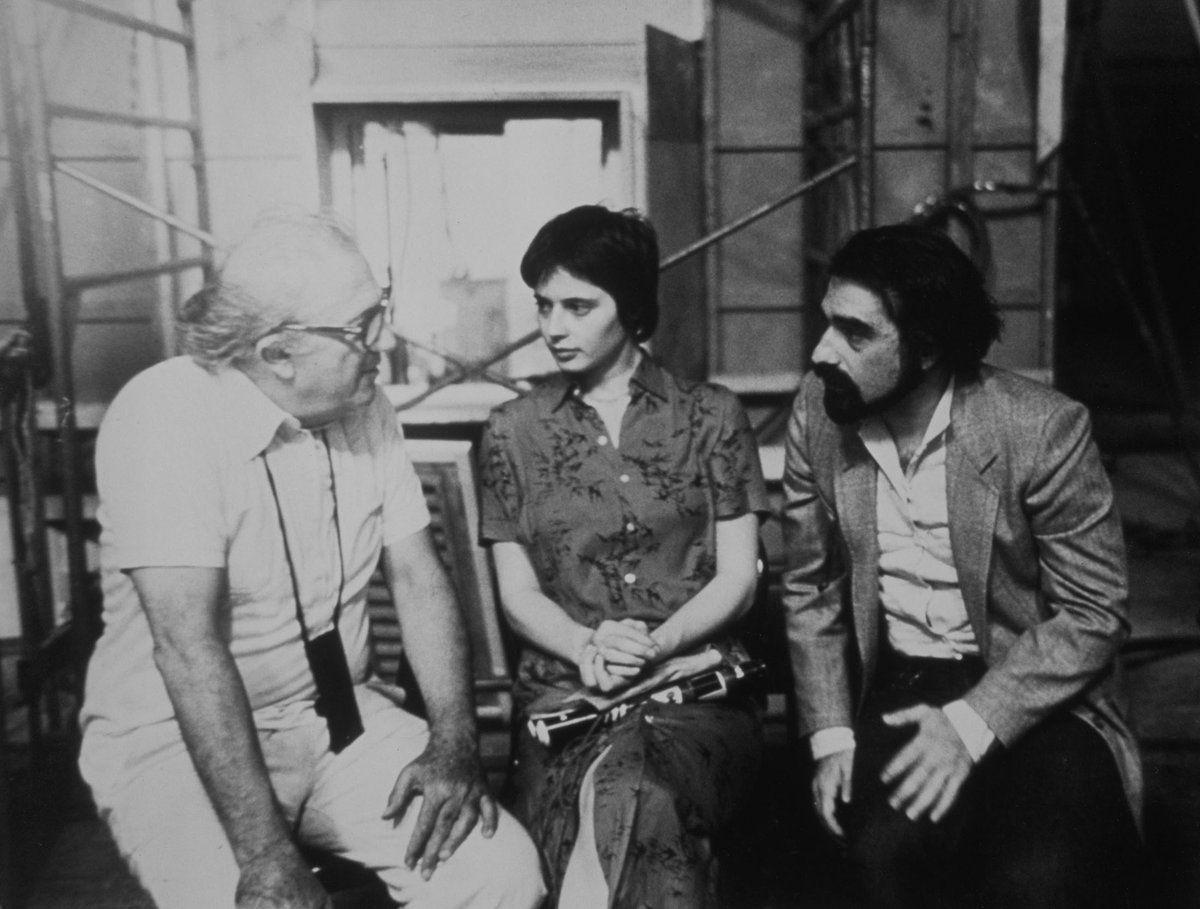 FedericoFellini, IsabellaRossellini & MartinScorsese