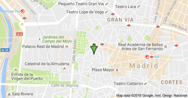 Calle Amnistía, 5, 28013 Madrid, Espagne : carte | lagorio