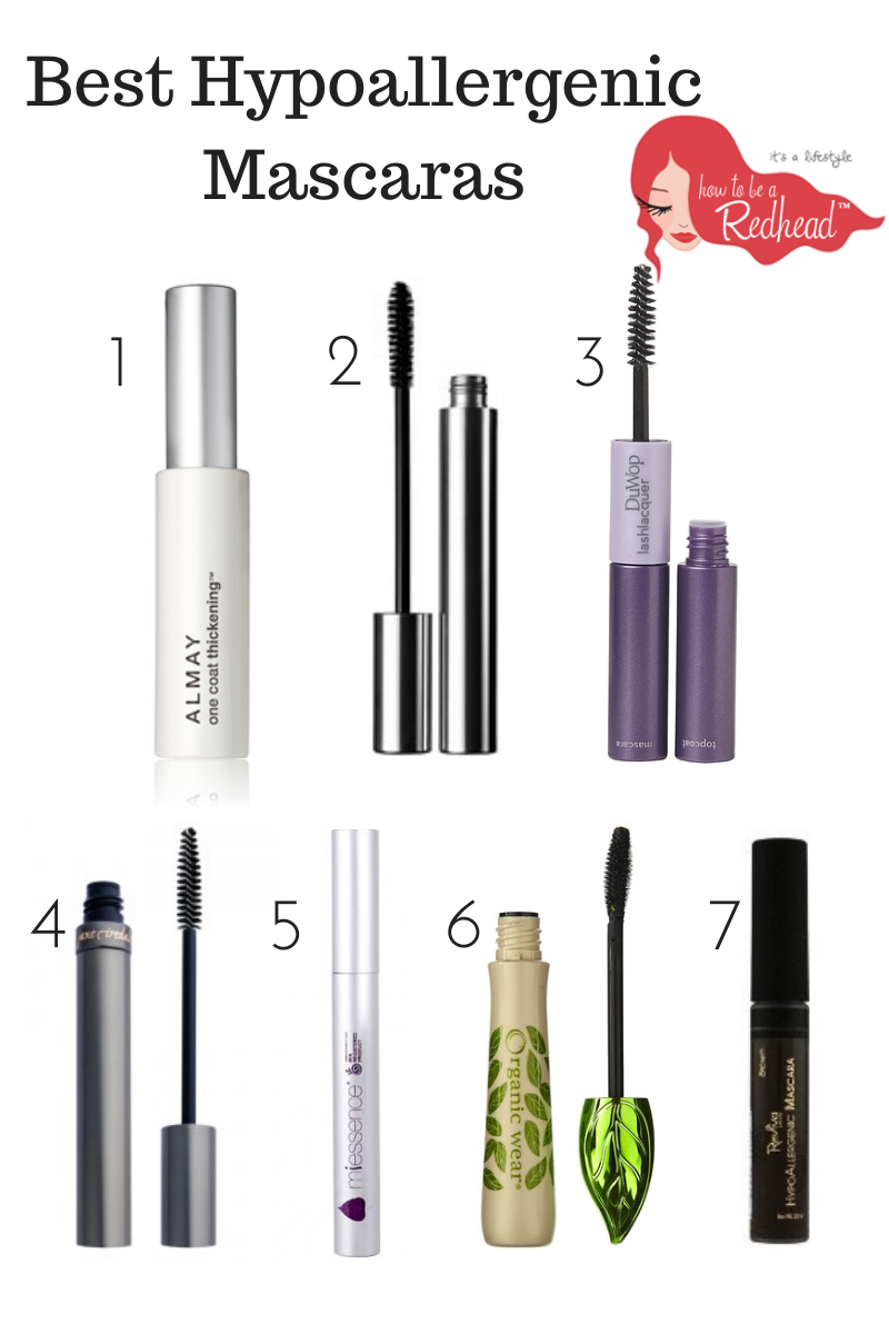 The best hypoallergenic mascara