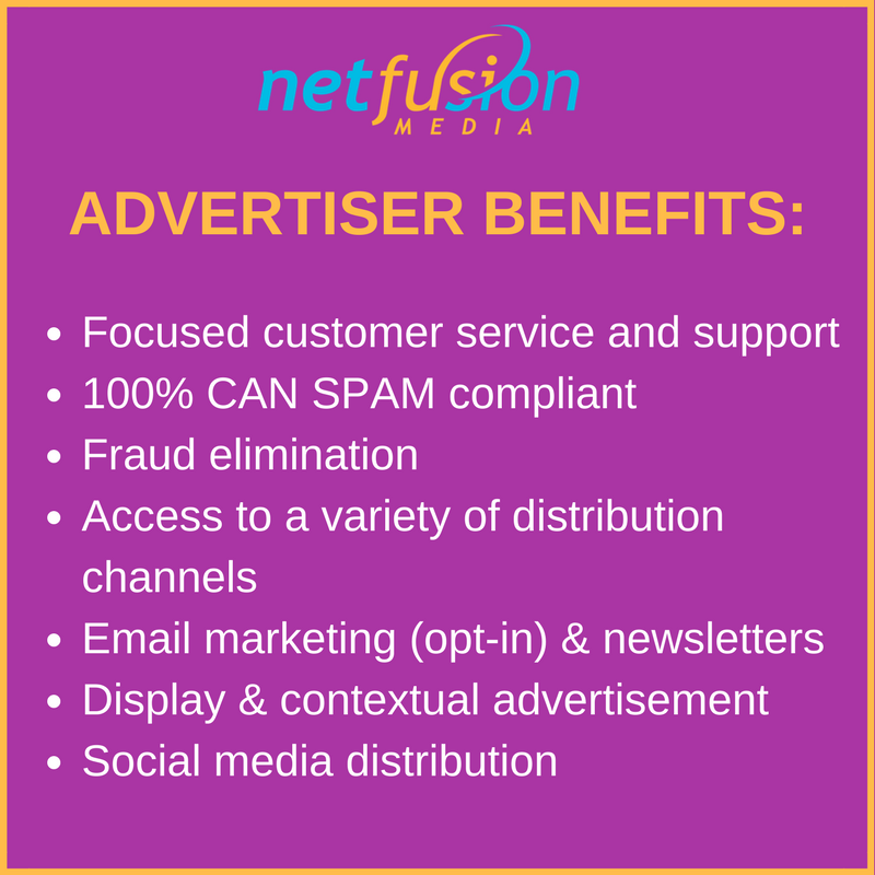 You only pay when we deliver results! Email marketing