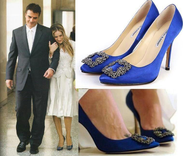 Hangisi De Manolo Blahnik Carrie Bradshaw Puso De Moda Los Manolos Y Qué Mejor Marca Para Invertir En Manolo Blahnik Wedding Shoes Pumps Outfit Manolo Blahnik