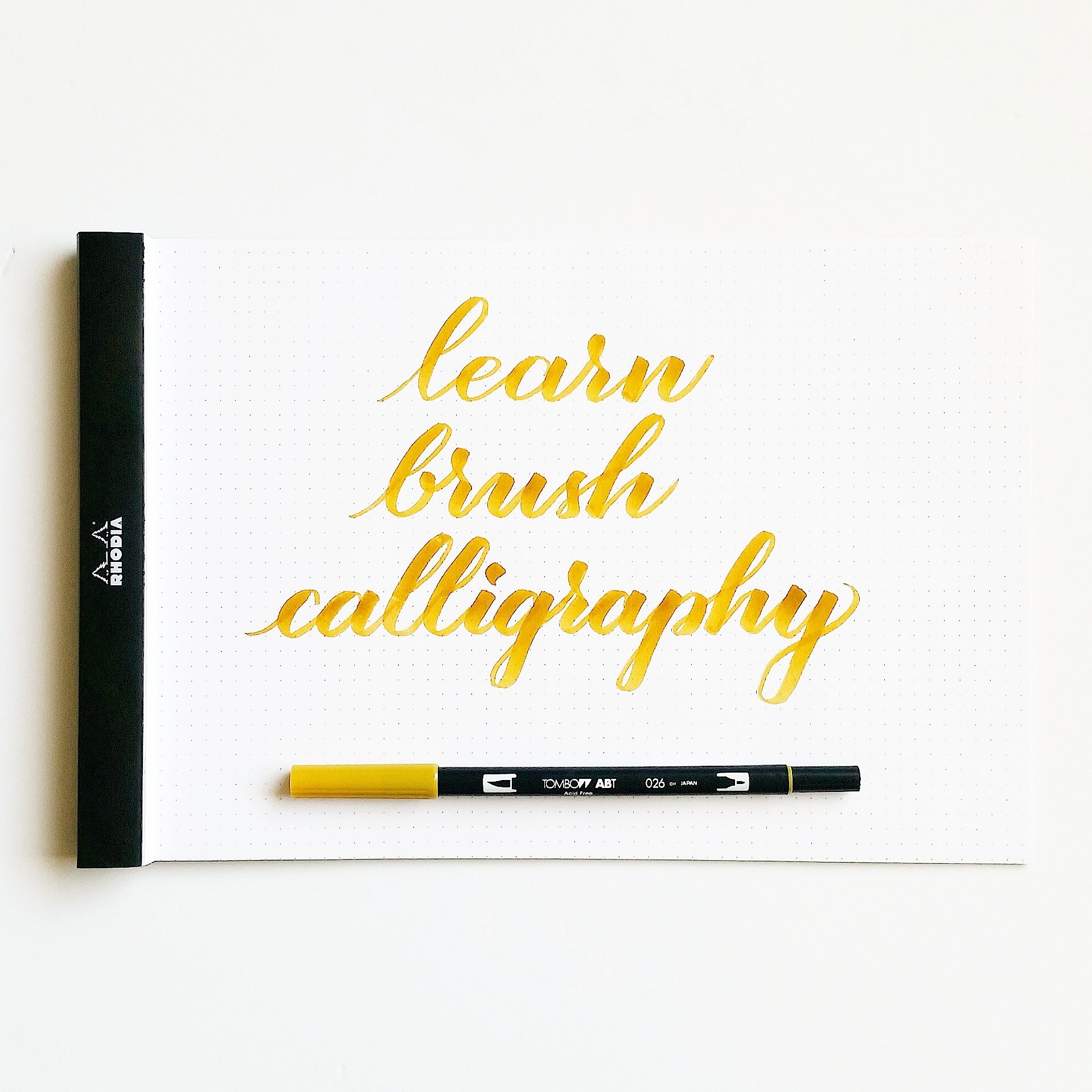 Interested in learning brush calligraphy but don t know