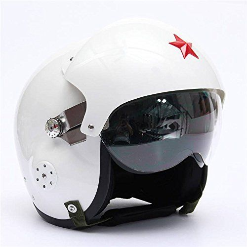 Amazonfr Audew Moto Scooter Casque Air Force Jet Pilot Vol Dot