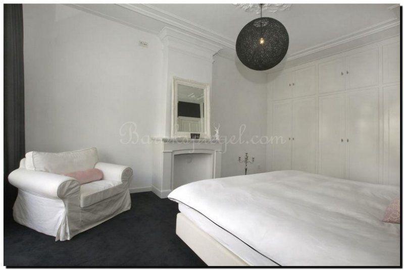 witte-barok-spiegel-in-slaapkamer | Witte spiegels White mirror ...