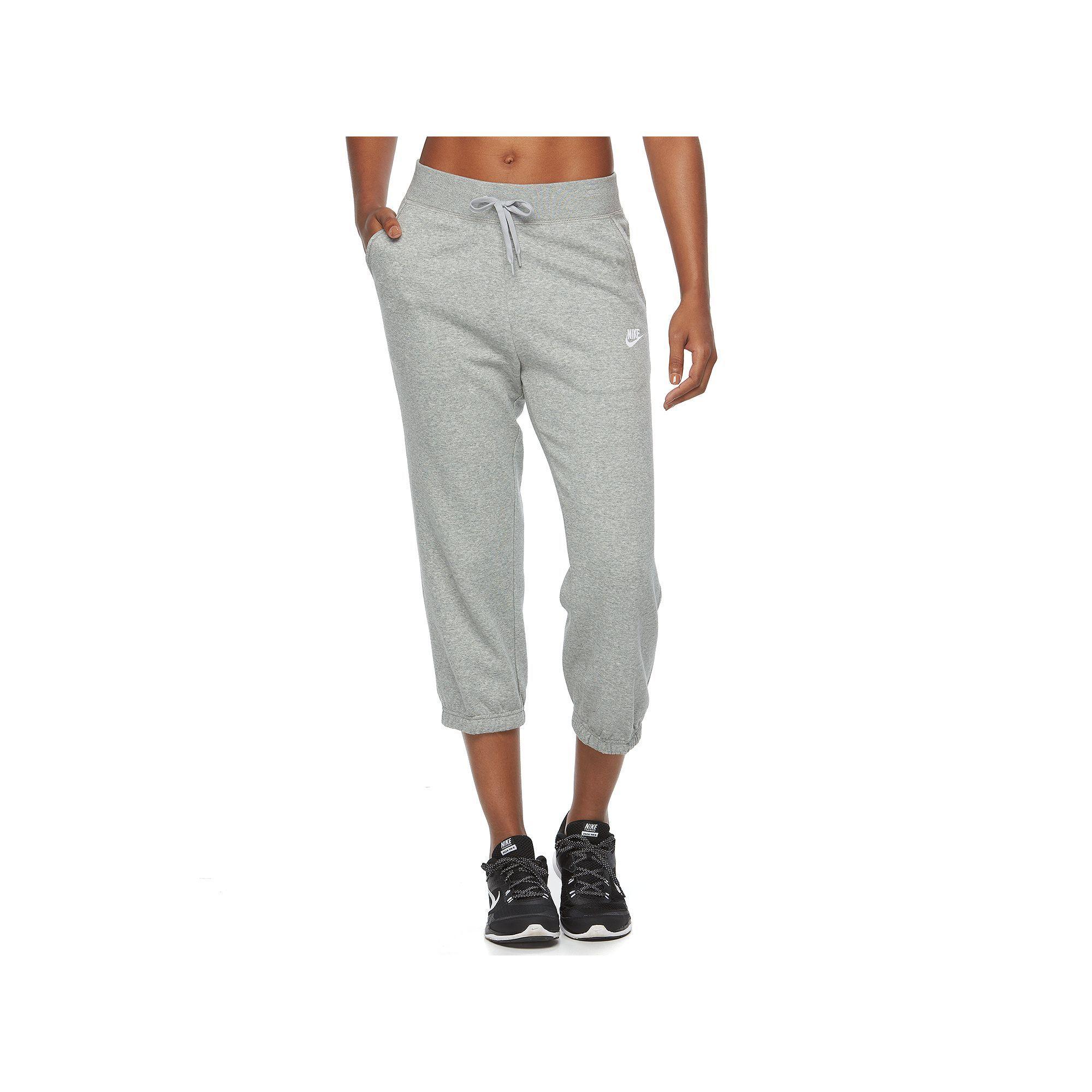 a8884a2bbb2b Women s Nike Fleece Capri Jogger Pants
