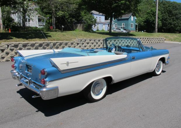 1957 Dodge Custom Royal Convertible D-500 | classic cars | Cars