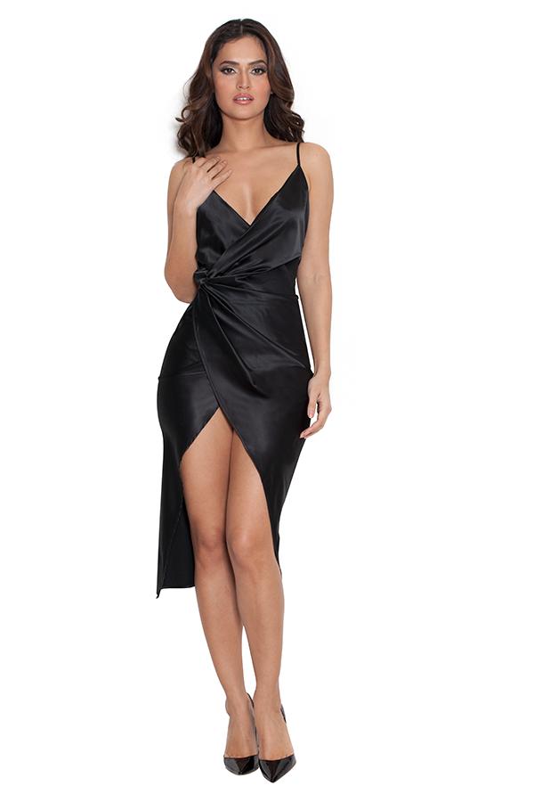 Black dress girl xx