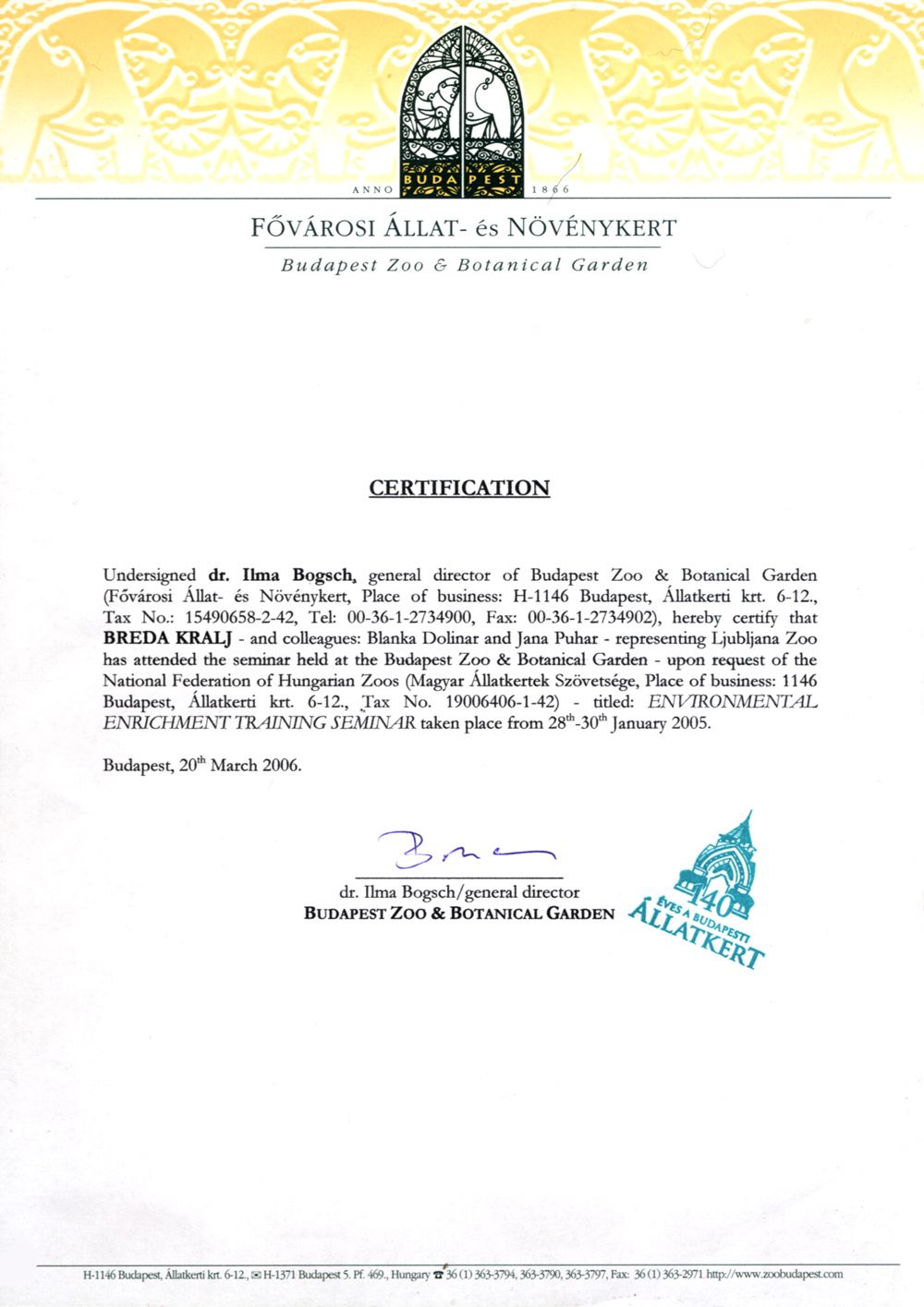 sample of employment certificate letter