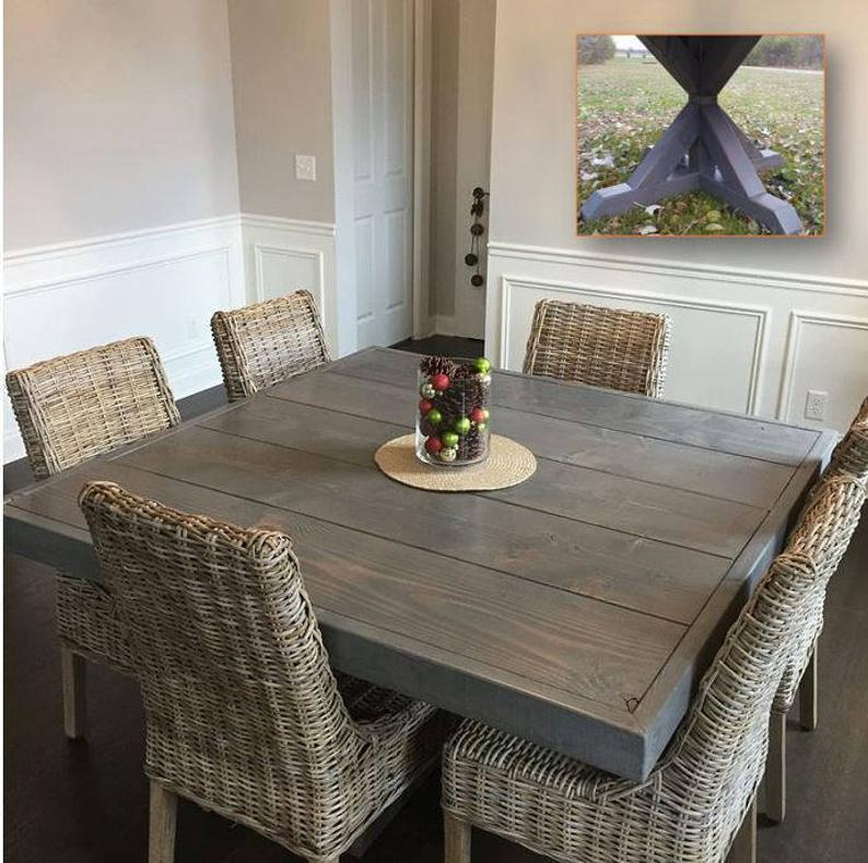 Farm House Table Dining Table Square Farm Table Square Dining