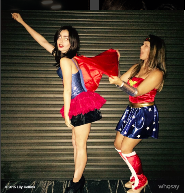 162 JawDropping Photos of Celebs in Halloween Costumes Lily