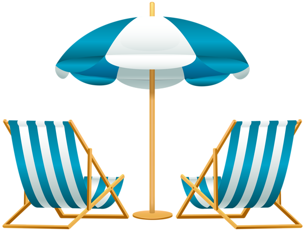 beach umbrella with chairs free png clip art image swimming pool rh pinterest com free clip art beach theme free clip art beach borders