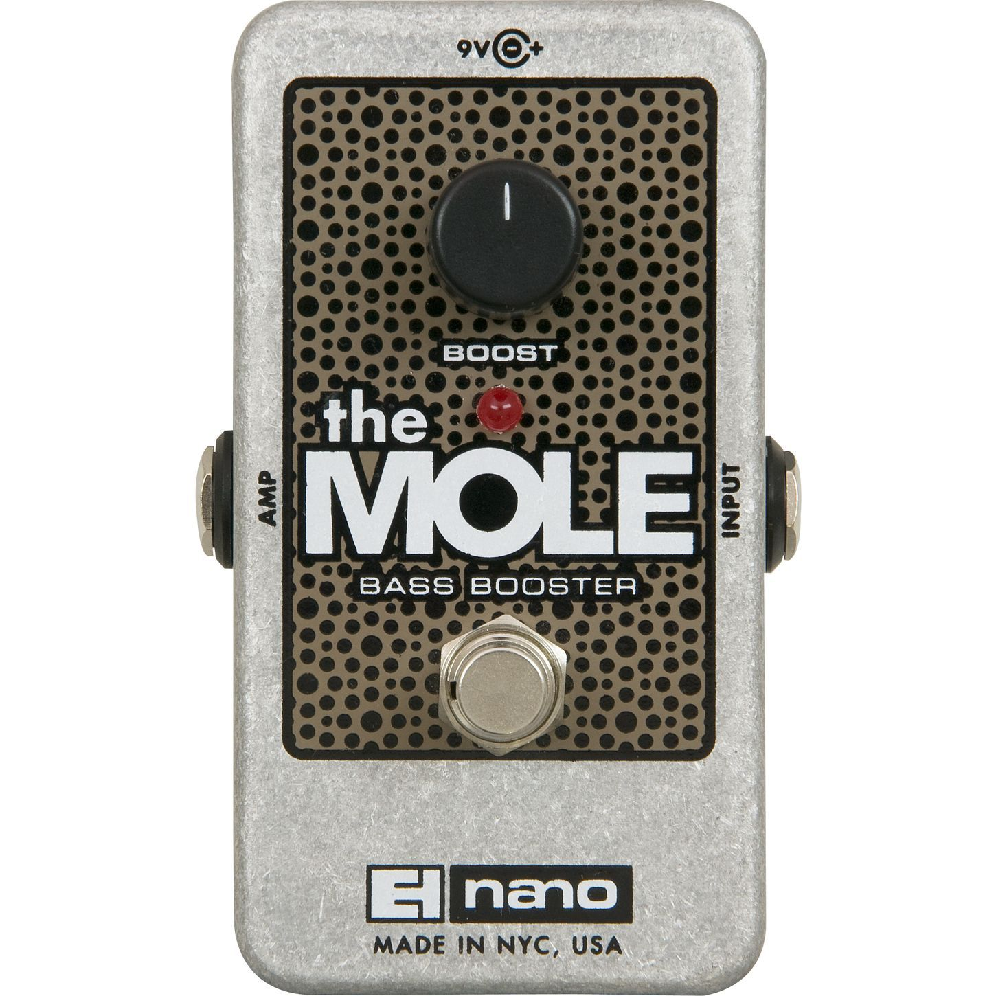 Electro Harmonix The Mole Bass Booster Nano Pedal in 2019