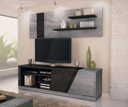 mueble de tv minimalista - Buscar con Google room Pinterest - mueble minimalista